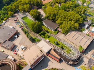 Pittsburgh Aerial Drone Services - Kennywood Park - Steel City Drones