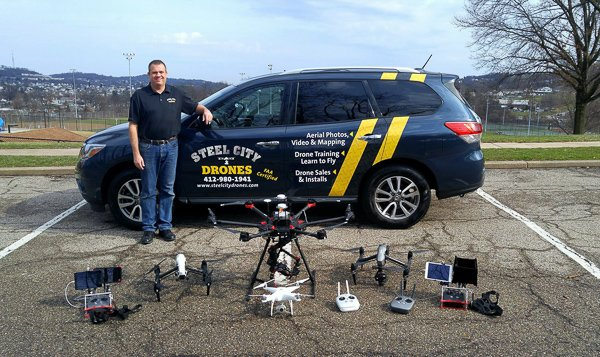 Steel City Drones - Pittsburgh Aerial Drone Services
